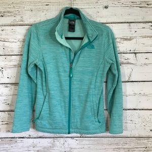 North Face Green Long sleeve Jacket